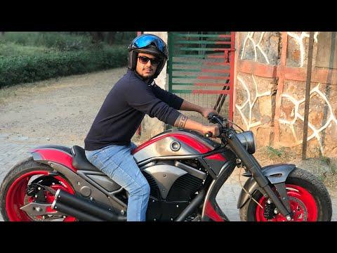 Bajaj Avenger modified | Bike Modification | into Harley davidson | Vampvideo |