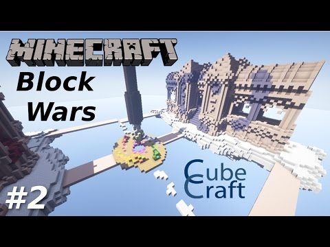 Minecraft Block Wars Cubecraft #2 EIGHT TO ZERO?? with garageagle