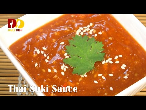 Thai Suki Sauce | Thai Food | Nam Jim Suki | น้ำจิ