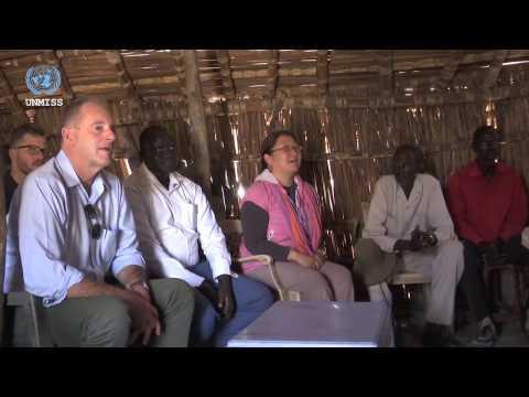 UNMISS SRSG visits Bentiu and Leer