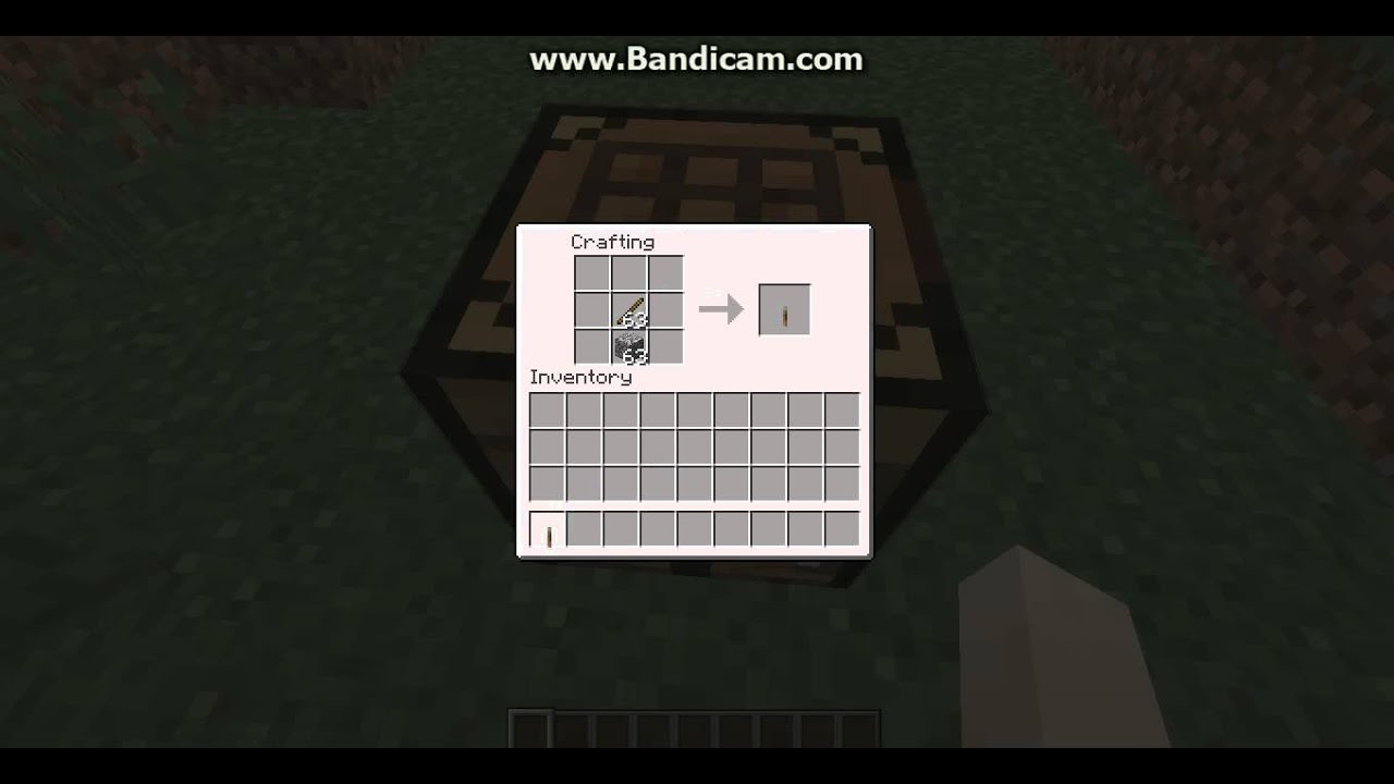 how to minecrafthow to craft a lever youtube