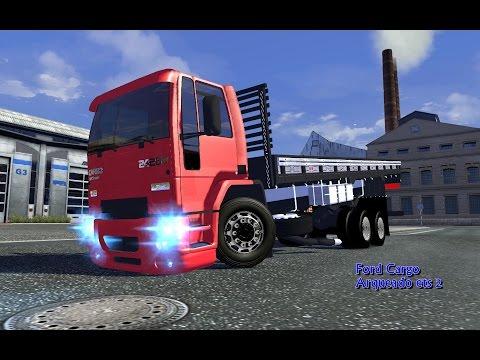 Euro Truck Simulator 2 - Ford Cargo arqueado