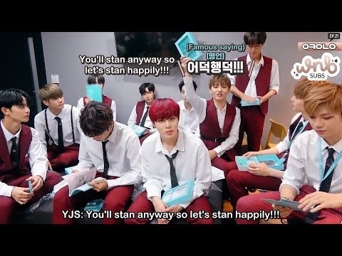 [ENG SUB] 180721 Okay Wanna One Ep 21 -...