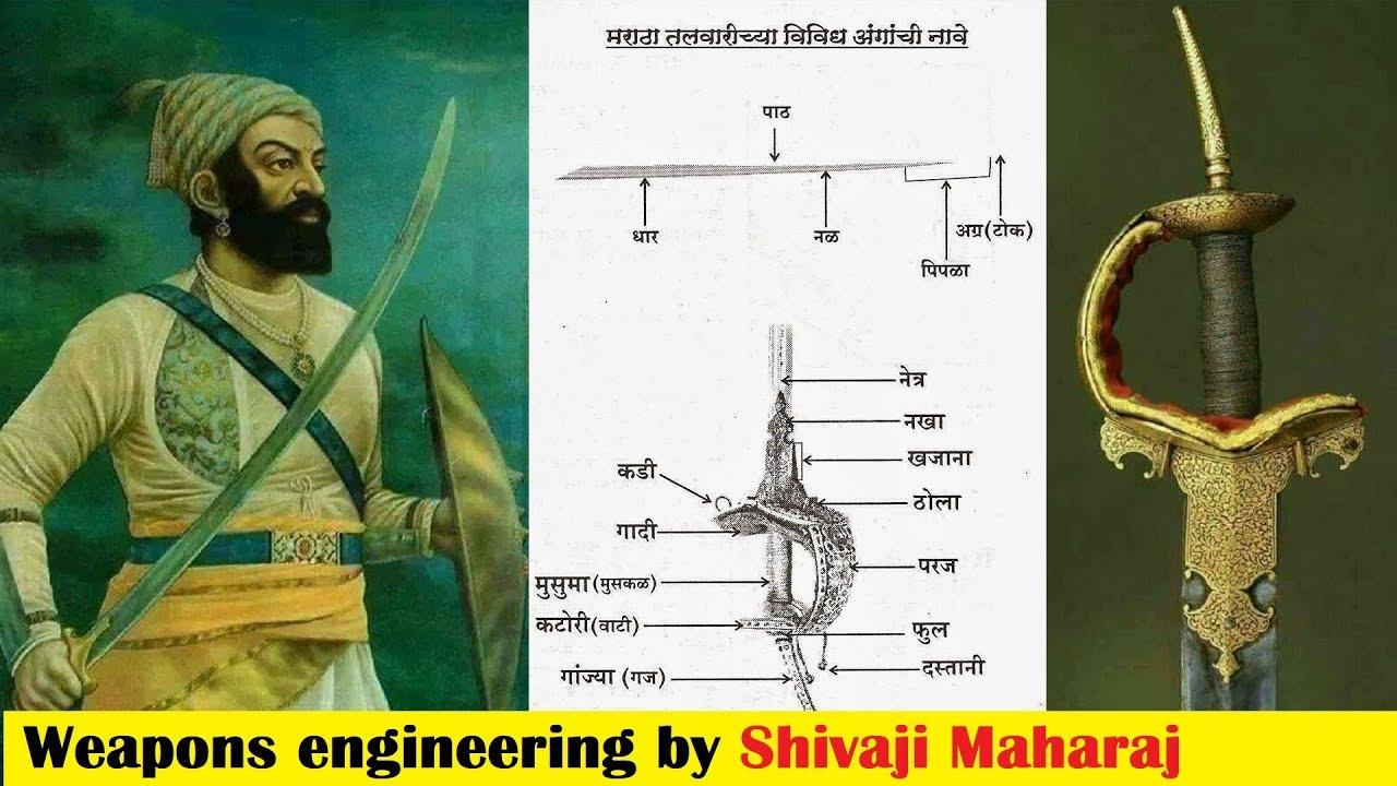 शिवकालीन मराठा तलवार का निर्माण   Maratha Talwar Development by Shivaji  Maharaj