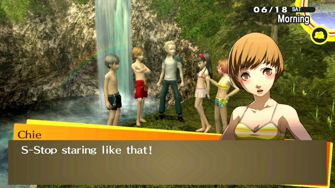 4 Camping Hd Ps Vita Persona 4 Golden School Camping Trip