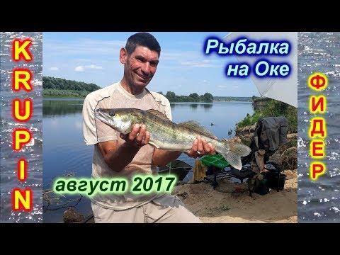 Рыбалка на Оке Рязанской.  Пять дней жаркого августа. 2017 г.