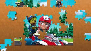 PAW Patrol Pups Save The PAW Patroller Scene Fun Puzzle Video For Kids