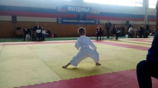 Соревнования по карате. Ката, дети. Первый год обучения. Новочебоксарск, 2016 год.