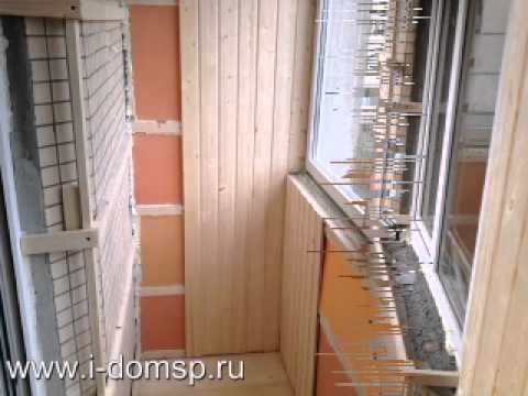 Максимус окна - обшивка балкона деревянной вагонкой funnycat.