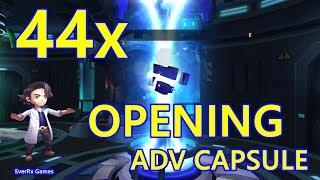 Pocket Arena (Pokeland Legends) - 44X ADVANCED CAPSULE OPENING (4 x TEN AND 4x ONE ) NEW POKEMONS