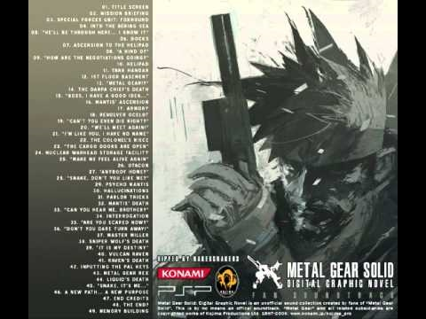 Metal Gear Solid Digital Graphic Novel OST Into Bering Sea