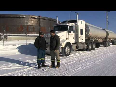 blackmer ice road trucker pumps  yellowknife canada youtube