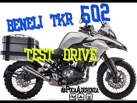 Benelli TRK 502 prova ita Test Drive