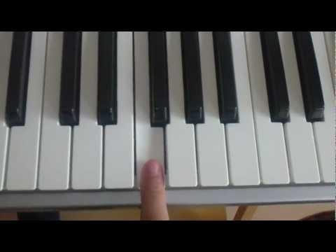 Keyboard spielen Happy birthday