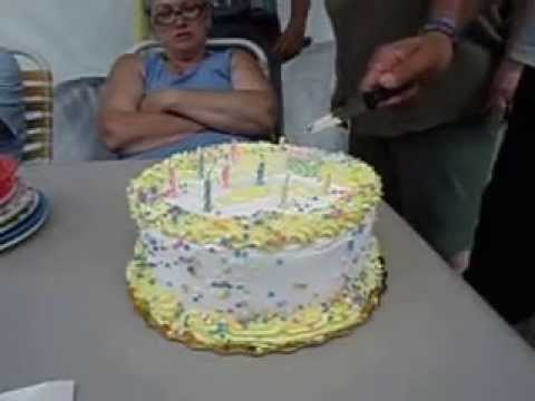 Harry Asks How Do I Cut Up Lindas Birthday Cake Three People Try To Tell Him HowFUNNY