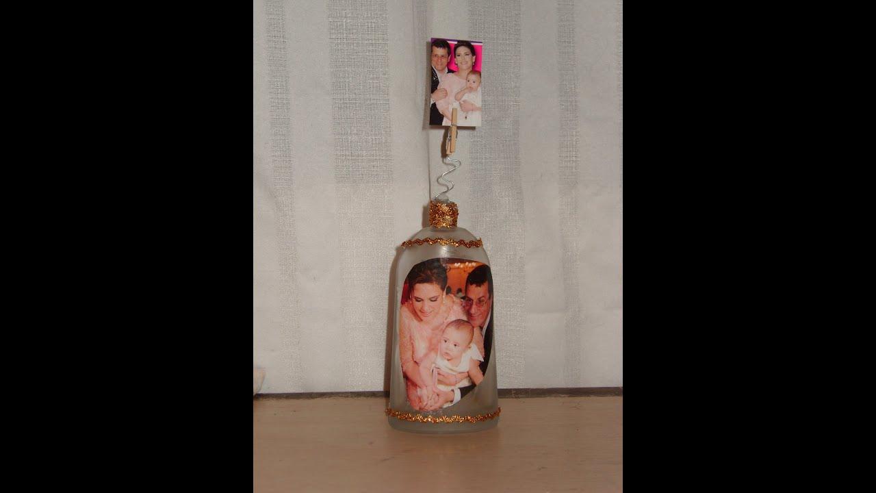C mo hacer un porta retratos original para este d a del - Como decorar fotos ...