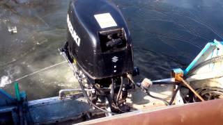 Лодочный мотор suzuki 30  прогресс 4