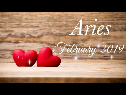 ARIES ♈️  FEB 2019 | THEY ARE WATCHING YOU, BIG TIME! - Aries Tarot Love Reading