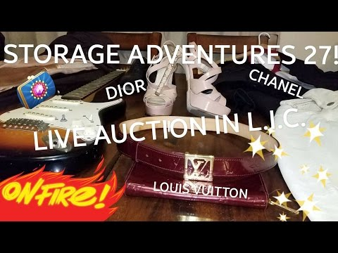 Storage Adventures 27: Scoring Chanel, Louis Vuitton and Gucci at a live auction