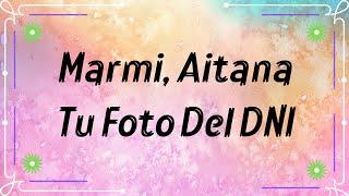 Marmi, Aitana - Tu foto Del DNI Remix  (Letra)