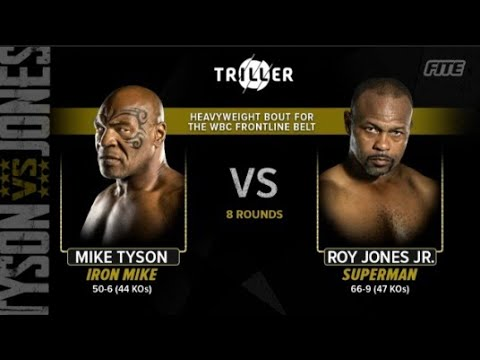Download MIKE TYSON VS  ROY JONES JR  | FULL WEIGH IN AND PROMO VIDEO