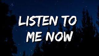 Framed - Listen To Me Now (Lyrics)   listen to me now tiktok remix