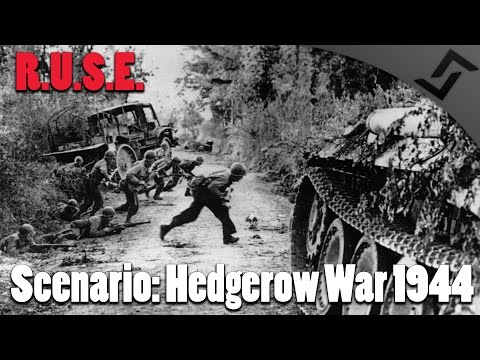 R.U.S.E. - Scenario: Hedgerow War 1944 Normandy