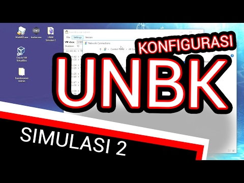 Instal Server UNBK  Simulasi 2