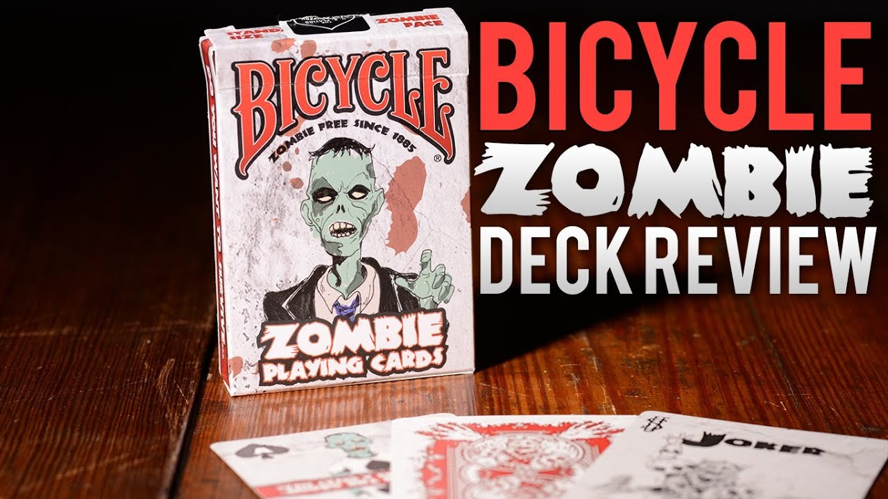 Deck Review Bicycle Zombie Playing Cards Deck Giveaway
