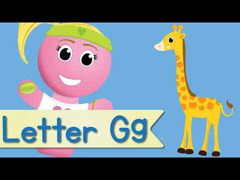 Letter G Song (Animated)
