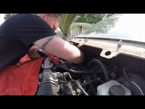 ford freestar ignition coil replacement: fixing fords across america-  indiana - youtube