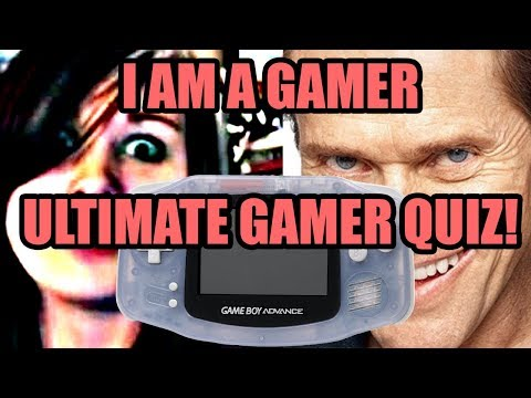 GAMER QUIZ : The Ultimate Gamer Test