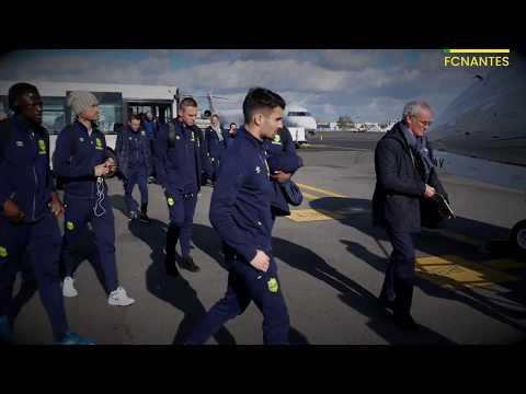 OGC Nice - FC Nantes : les coulisses du voyage