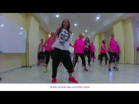 Desde Esa Noche - Thalía Ft. Maluma - ZUMBA ESCORIAL Con Ana Arias