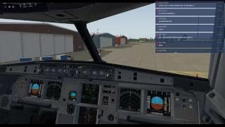 [X-Plane 11] ToLiSs A319 - LEBL (Barcelona) vers LPFR (Faro)