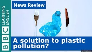 A solution to plastic pollution? BBC News Review