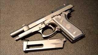 Swiss Arms Taurus PT92 (Cybergun GSG 92) 4.5mm Air Pistol Review