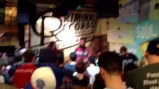 Manchester Orchestra-Mean Everything To Nothing Live at Criminal Records Atlanta April 2, 2014