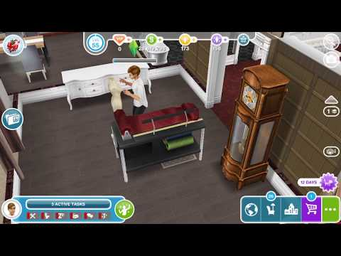 Sims Freeplay Hobbies Fashion Designer Youtube