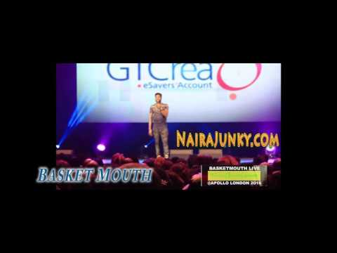 Video (stand-up): Basketmouth Talks Escaping From Chanel Store – Apollo London 2016