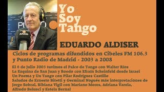 Yosoytango en España -3 - Walter Rios - Efrain Scheinfeld - Eduardo Aldiser - 6 de Julio 2003