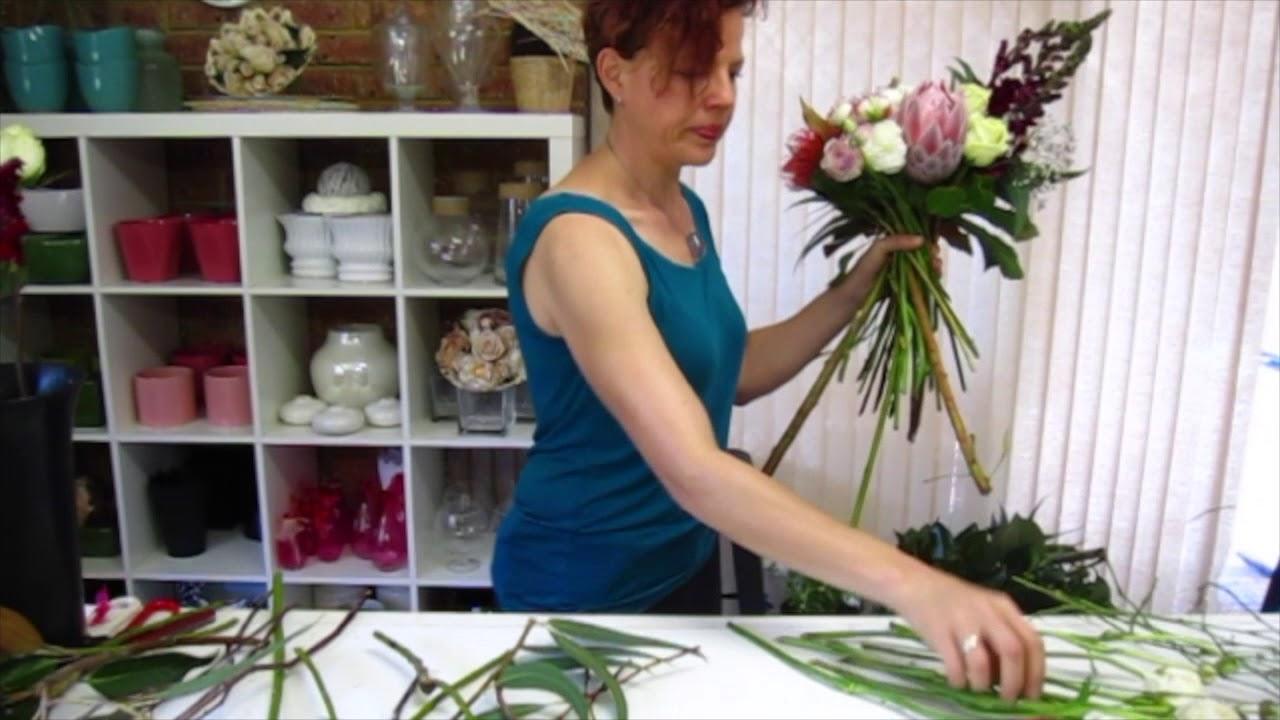 Australian Native Bridal Bouquet Tutorial Flower Design School