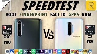 Realme X50 Pro vs Realme X2 Pro Speed Test
