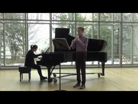 Poulenc Sonata for Oboe and Piano Mvt  1
