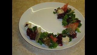 Салат из свеклы-просто пальчики оближешь/Салат з буряка/Beet Salad Recipe