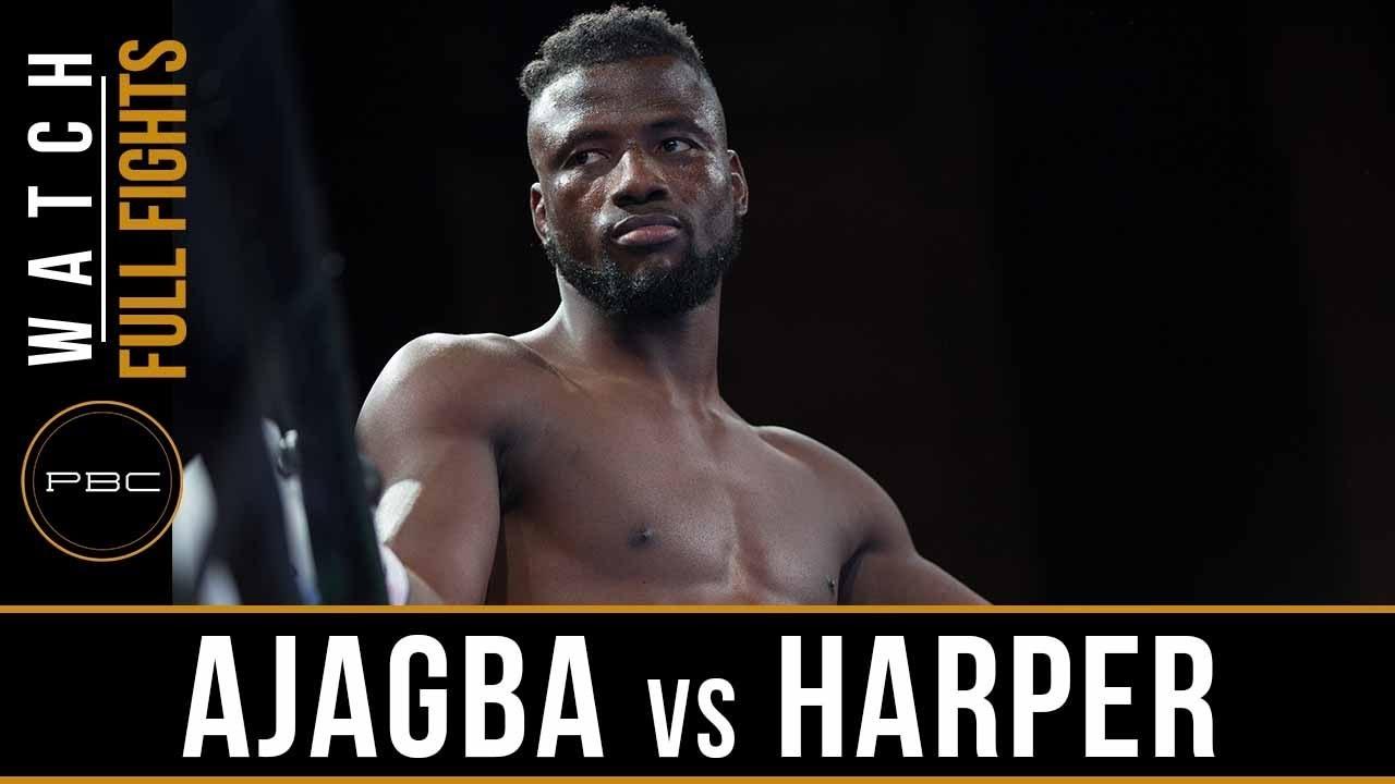 Download Ajagba vs Harper Full Fight: August 24, 2018 - PBC on FS1