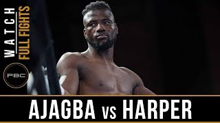 Ajagba vs Harper Full Fight: August 24, 2018 - PBC on FS1