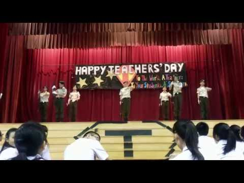 NCHS NCC PDS (Angel with a Shotgun) - Teachers' Day 2014