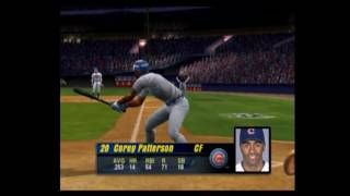 MVP Baseball 2003 Cubs vs Braves Part 1