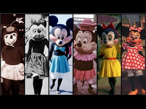 Evolution Of Minnie Mouse In Disney Theme Parks! DIStory Ep. 6 - Disney Theme Park History